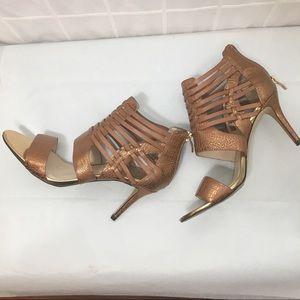 Vince Camuto Bronze Gladiator Style Heel